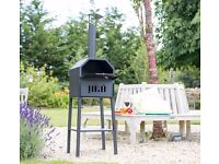 GENOA GARDEN PIZZA OVEN OUTDOOR OVEN WOOD FIRED BBQ GRILL SMOKER