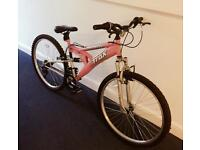 Pink Ladies Mountain/Town Bike in excellent condition