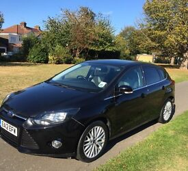 2012 Ford Focus 1.6 Ti-VCT Zetec 5dr - Black - 2 owners - 2 keys - Alloys - Manual
