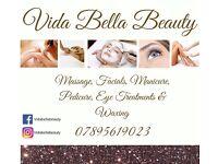 Vida Bella Beauty ***SPECIAL OFFER 20% OFF ALL TREATMENTS***