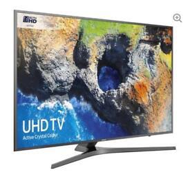 """55"""" SAMSUNG Smart 4K Ultra HD HDR LED TV UE55MU6470U warranty and delivered"""