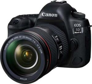Canon EOS 5D Mark IV Full Frame Digital SLR Camera with EF 24-105mm f/4L IS II USM Lens Kit - BRAND NEW* - BLACK FRIDAY