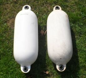 2 x Fenders for Fishing / Rowing Boat Dinghy Tender or Yacht
