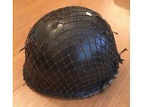 British Royal Marines Commando Steel Combat Helmet 1970s