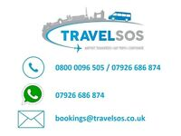 16 Seater Minibus Hire With A Driver - Weston Super Mare, Blackpool, Skegness, Barmouth, Bournemouth