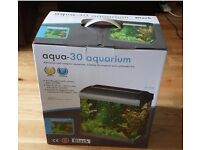 24 Litre Aquarium with light and filter.