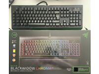 Razer Blackwidow Chroma V2 (Excellent condition)