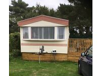 STATIC CARAVAN FOR SALE NEWCASTLE CO DOWN, 3 BED, GAS CENTRAL HEATING, DOUBLE GLAZED ON LAZY BJ PARK