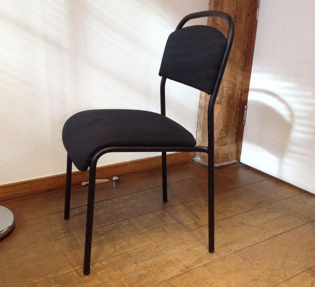 IKEA SARNA Black Chair