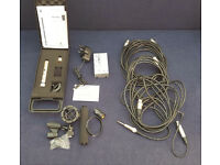 BEHRINGER B-5 SINGLE DIAPHRAGM CONDENSER MIC + POWER SUPPLY + XLR CABLES