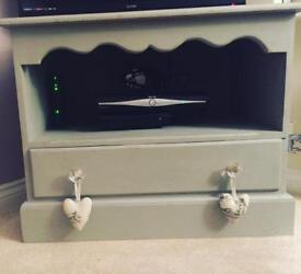 Annie Sloan tv cabinet