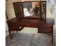 Stag Minstrel Dressing Table & Mirror