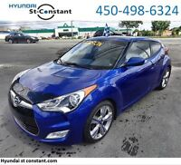 2012 Hyundai Veloster TECH TOIT PANO CUIR GPS AUTO TRES BAS KM !