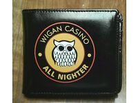 Brand new Wigan Casino All Nighter wallet, made by Warrior.