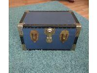Vintage Blue Overpond Trunk