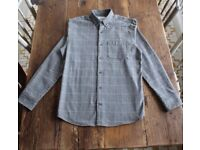 Barkers New Zealand Casual Grey Men's Shirt Size S Thick Winter Weight