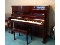 Beautiful Cherry Yamaha Piano U1N Model
