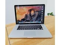 Apple MacBook Pro 15, Intel core i5 2.53GHz, 8GB RAM, 500GB HDD