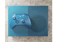 Xbox One S 500GB Limited Edition Blue Console
