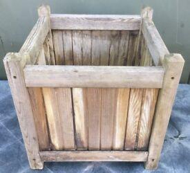 Wooden planter box 45 x 45 x 45cm