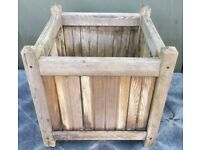 Wooden planter box 45 x 45 x 45cm