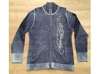 Brand new authentic men's medium Ed Hardy wool cardigan / jumper. RRP £180