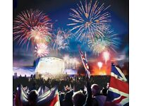 HALF PRICE 2 Tickets Burghley House Battle Proms 7 July