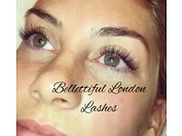 Individual eyelash extensions - Bellettiful London Lashes