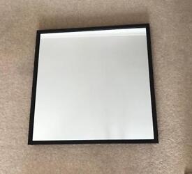 Ikea Stave black wood effect mirror