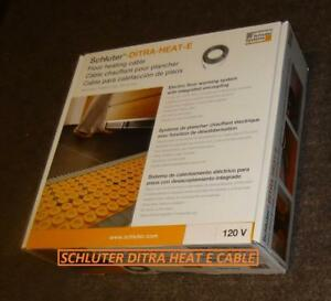 Schluter Systems DITRA-HEAT-E Floor Heating DHEHK Cable All Sizes / Type / Models are available