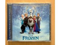 ORIGINAL/GENUINE DISNEY 'FROZEN' SOUNDTRACK CD – in excellent condition - IDEAL CHRISTMAS GIFT