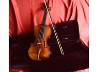 Violin set 3/4 size. Immaculate condition.
