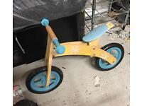 Plum Wooden Balance Bike
