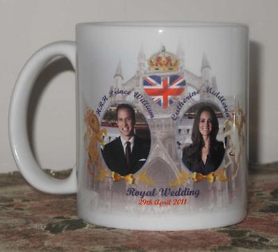 PRINCE WILLIAM AND KATE MIDDLETON WEDDING Mug Cup #5