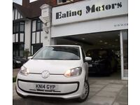 2014 VOLKSWAGEN UP,5DOOR HATCHBACK,MANUAL,FULL HISTORY,NEW MOT,AIRCON,FINANCE AVAILABLE,RAC WARRANTY