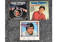 3 GENE PITNEY VINYL ALBUMS