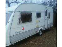 1995 5 berth sterling europa caravan