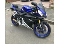 2015 YAMAHA YZF R125 ABS 125CC LEARNER LEGAL FULL SERVICE HISTORY ROAD LEGAL £1800 NO OFFERS!!!