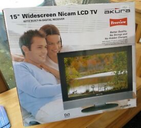 Freeview LCD TV For Bedroom Or Kitchen In Excellent Condition £24.99
