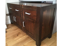 Large Wooden Sideboard/ Side table