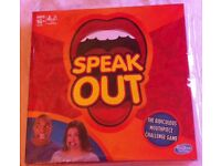 Speak out game brand new still in wrapper collection only.