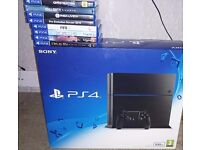 Ps4 and 8 games