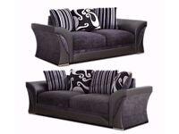 WOW AMAZING OFFER!! Brand New SHANNON Corner Or 3 + 2 Sofa, SWIVEL CHAIRS, Universal corner Sofa