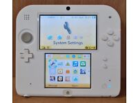 Nintendo 2DS - Red and White