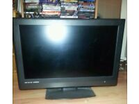 "tevion 32"" flat screen FREEVIEW tv"