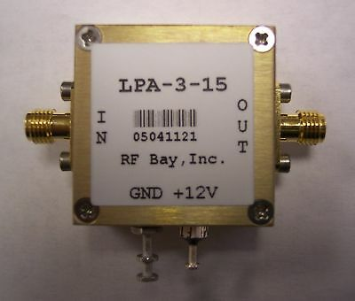 10-3000mhz 18db Gain Rf Amplifier Lpa-3-15 New Sma