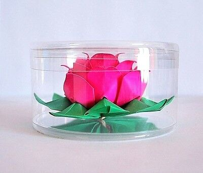 Origami LOTUS paper flower water lily wedding valentine gift wishing lantern