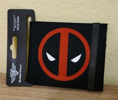 Wallet Marvel Comics Deadpool Logo DPA Bifold Buckle Down