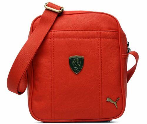 Puma Premium Ferrari F1 Portable Side Shoulder Messenger Bag Red Pmmo1008