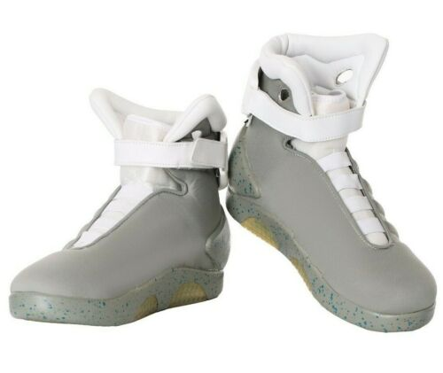 Adult Back to the Future MAG Shoes Size 5 6 7 8 9 10 11 12 13 14 15 (w/ defect)